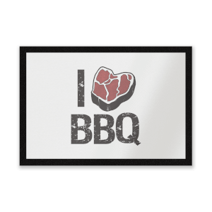 I Love BBQ Entrance Mat