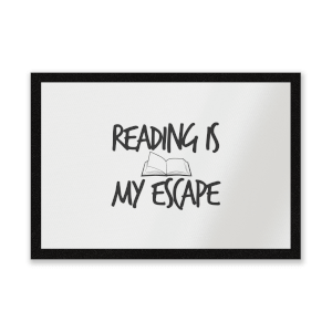 Reading Is My Escape Entrance Mat