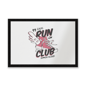 RUN CLUB 99 Entrance Mat