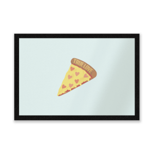 True Love Pizza Entrance Mat
