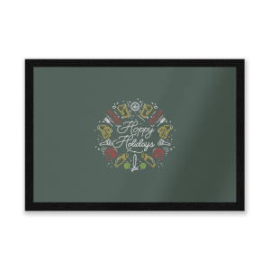 Hoppy Holidays Entrance Mat