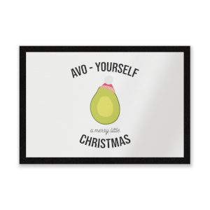 Avo-Yourself A Merry Little Christmas Entrance Mat