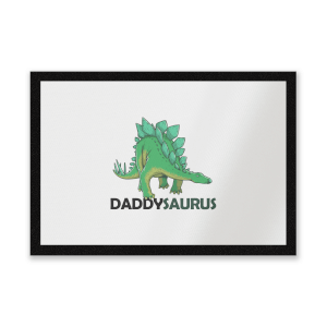 Daddysaurus Entrance Mat