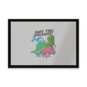 Save The Dinosaurs Entrance Mat