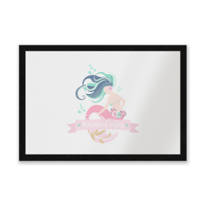 Mermaid Vibes Entrance Mat