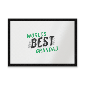 Worlds Best Grandad Entrance Mat