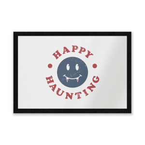 Happy Haunting Fang Entrance Mat