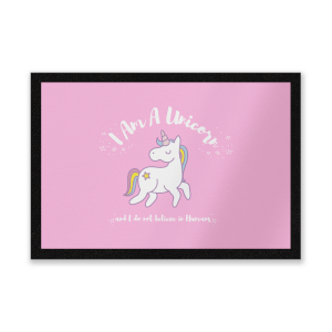 I Am A Unicorn Entrance Mat