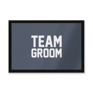 Team Groom Entrance Mat