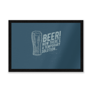Beer Temporary Solution Entrance Mat