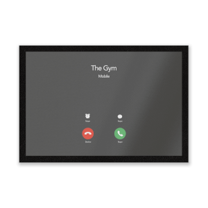 Gym Calling Entrance Mat