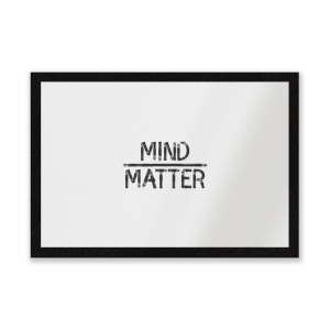 Mind Over Matter Entrance Mat