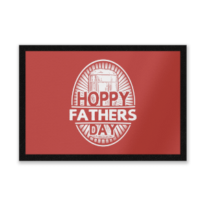 Hoppy Fathers Day Entrance Mat