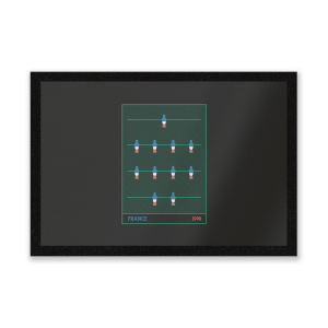 France Fooseball Entrance Mat