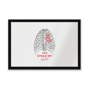 You Stole My Heart Entrance Mat