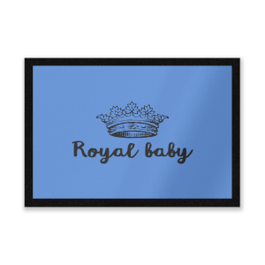 Royal Baby Entrance Mat