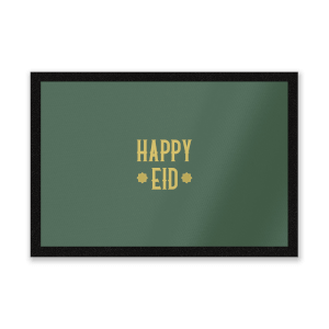 Happy Eid Gold Entrance Mat