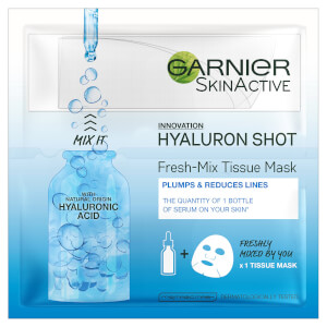 Garnier Fresh Mix Tissue Face Mask with Hyaluronic Acid 33ml