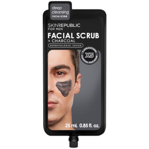 Skin Republic Men's Charcoal Facial Scrub 25ml