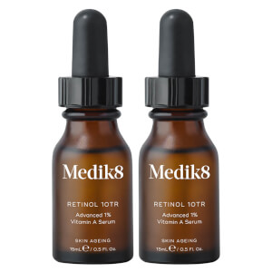 Medik8 Retinol 10TR Serum 15ml Duo (Worth $198.00)
