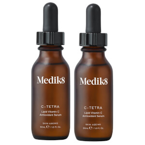 Medik8 C-Tetra Serum 30ml Duo (Worth $156.40)