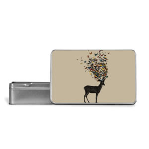 Wild Nature Metal Storage Tin