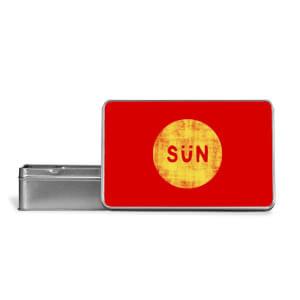 Sun Metal Storage Tin