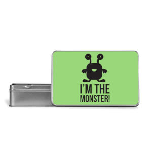 I'm The Monster Metal Storage Tin