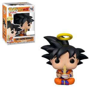 Dragon Ball Z Goku Eating Noodles EXC Pop! Vinyl Figure