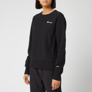 Champion Women's Small Script Sweatshirt - Black
