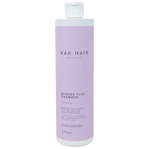 NAK Blonde Plus Vegan Shampoo 375ml