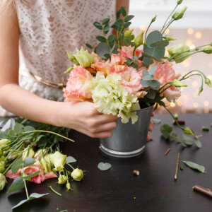 Hands-on Floristry Experience with Nadine and Nathaniel Flower School