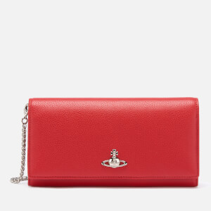 Vivienne Westwood Women's Windsor Long Wallet With Chain - Red