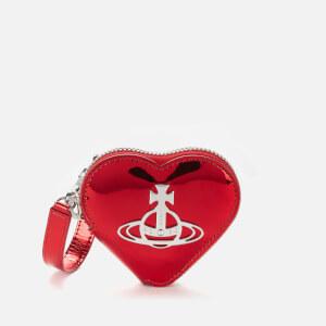 Vivienne Westwood Women's Johanna Heart Coin Case - Red