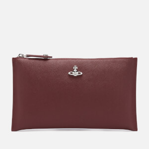 Vivienne Westwood Women's Victoria Purse With Zip - Burgundy