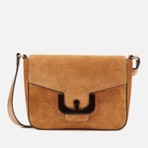 Coccinelle Women's Ambrine Suede Cross Body Bag - Caramel