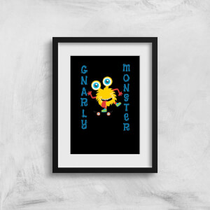 Gnarly Monster Art Print