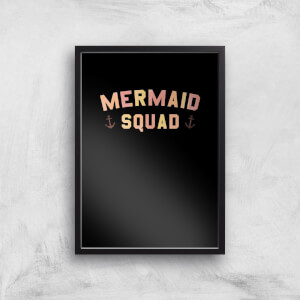 Mermaid Quad Art Print