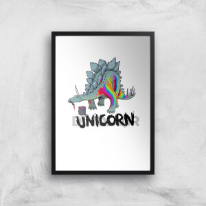 DinoUnicorn Art Print