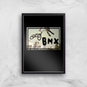 BMX Jump Art Print