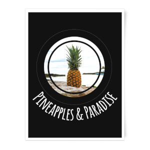 Pineapples And Paradise Art Print