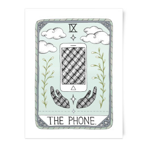 The Phone Art Print