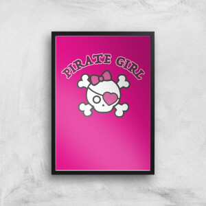 Pirate Girl Art Print