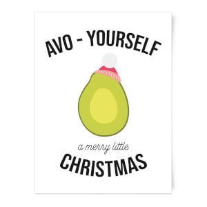 Avo-Yourself A Merry Little Christmas Art Print