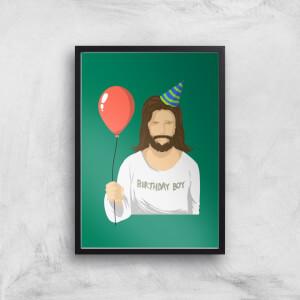 Birthday Boy Art Print