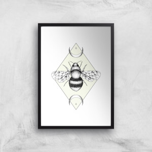 Bee Confident Art Print