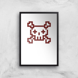 You Are Dead Gaming Art Print