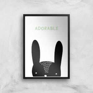 Adorable Art Print