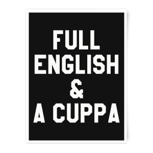Full English And A Cuppa Art Print