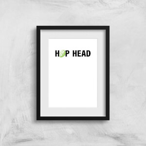 Hop Head Art Print
